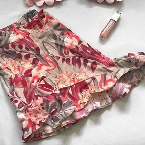 Zara print shorts